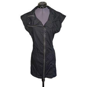 Bench Fitted Zip Up Shift Black Zipper Dress